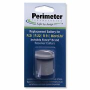 Perimeter Technologies Invisible Fence Compatible R21 And R51 Dog Collar Battery