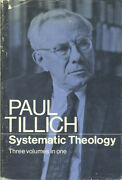 Paul Tillich / Systematic Theology Three Volumes In One 1st Edition 1967