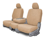 Custom Fit Tweed Front Seat Covers For The 1995-2000 Chevy Full Size Ck Trucks