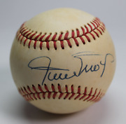 Willie Mays Signed Autographed Baseball Rare Amco Authenticated 14975