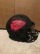 Patrick Mahomed Signed/autographed Speed Authentic Eclipse Helmet Beckett