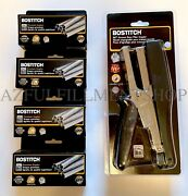 Bostitch B8hdp Xtreme Heavy Duty Plier Stapler With 4 Boxes Of 3/8 Staples