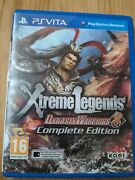 Dynasty Warriors 8 Xtreme Legends Complete Edition Ps Vita
