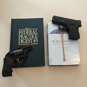 Set Of 2 Law Books Ny Hide A Gun Safe Pistol Concealed Carry Gun Vault