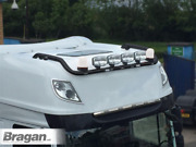 Black Roof Bar + Spots + Led + Beacon + Air Horn For Daf Xf 106 Superspace 2013+