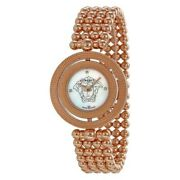 Versace Womenand039s Watch Ladies Rose Gold Steel Bracelet White Dial 79q80sd497s080