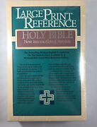 Vintage Niv Holy Bible W/ Red Letter Zondervan Dusty Rose New Nos Sealed Box