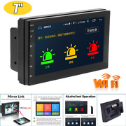 7hd Touch Car Android Bluetooth Gps Nav Mp5 Player Usb Radio Video Alcohol Test