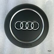 16-20 Oem Audi A3 Rs3 A4 S4 Rs4 A5 S5 Q2 Black Steering Wheel Srs Module W/wire