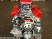 383 F Stroker Crate Engine Motor 440hp Roller Turn Key Pro Street Chevy Sbc Look