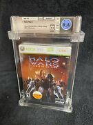 Wata 9.6 A+ Halo Wars Xbox 360 Limited Edition First Release Free Shipping