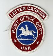 2 1950-60and039s Postal Patches