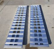 8and039 L 18 W 10000_lb_aluminum Truck_ Skid_ Forklift_ Ramps Trailer Local Pickup