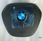 18-21 Oem Bmw 3 G20 4 G22 Black Steering Wheel Srs Module Usa Type W/cable Mint