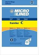 Dvc Eureka Style C Mighty Mite Micro Allergen Vacuum Cleaner Bags Made In Usa [