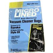 Dvc Eureka Style Dx Micro Allergen Vacuum Cleaner Bags Made In Usa [ 300 Bags ]