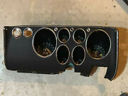 Corvair Corsa Dash W/trip Reset Complete And Excellent
