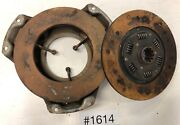 1935 1936 Ford Flathead 8 Clutch And Pressure Plate For Restore 1614