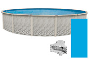 Meadows Round Above Ground Swimming Pools W/ Liner And Skimmer Various Sizes