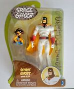 Space Ghost W/ Blip 8 Action Figure | Hanna Barbera | Jazwares Toys | Noc Toy