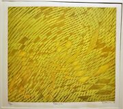 Stanley William Hayter Rare Expansion 1970 Fluorescent-color Etching Bandm 334