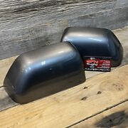 Brand New Oem 17+ Ford Super Duty Painted To Match Mirror Caps Carbonized Gray