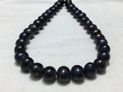 Aa 11.5-12 Mm Black Potato Freshwater Pearls,seed Freshwater Pearl,for Pearl