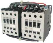 Ge Lar10a1 Iec Magnetic Contactor, 3 Poles, 24v Ac, 96 A, Reversing Yes