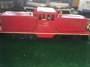 """Lionel 627 44 Ton Lehigh Valley Switcher Set Faux """"1543/700"""" 1956 Lubed Running"""