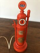 Vintage Gulf Oil Gas Pump Phone 1984 Touch Dial Novelty Gas/oil Collectors 9