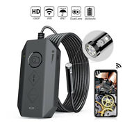 Hd Waterproof Endoscope Wifi Camera Inspection Snake Borescope For Android Ios