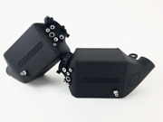 Csf Twin Charge-air-cooler Set Crinkle Black For Bmw M5 F10 / M6 F12/f13