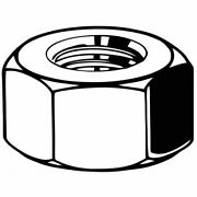Fabory L55080.025.0001 M2.5-0.45 Plain Finish A4 Stainless Steel Hex Nuts,