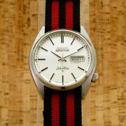 Seiko Silverwave 6306-8000 Used Watch 5actus Stainless Steel From Japan
