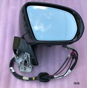 19-21 Oem Mercedes Cls C257 Complete Mirror Gray Right Dim/memory/camera Rhd