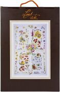 Vervaco-lanarte Counted Cross Stitch Kit 25x35-four Seasons 27 Count
