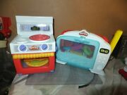 Lot Of 2 Play-doh Kitchen Creations Magical Oven Set