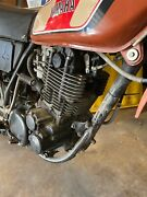 Yamaha 1977 Xt500 Engine Includes Kick Start Shift Pedal And Carb.