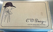 Vintage C.w. Designs Color Analysis System Colored Drapes And High Intensity Light