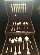 Gorham Chantilly Sterling Service For 8 Boxed With Serving Pieces Excellent