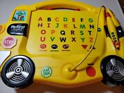Leap Frog My First Leap Pad Learning System 2004 School Bus Letter Number