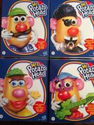 Hasbro Mr And Mrs Potato Head Classic Pirate Star Discontinued Complete Set Banned