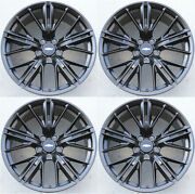 Set4 20 20x10/20x11 Zl1 Style Staggered Wheels Fit Chevy Camaro Lt Ls Rs Zl1