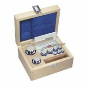 Kern 313-03 E2 1 Mg - 100 G Set Of Weights In Woode