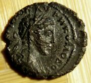 Provincial Roman Coin Of Commodus 179-192 Ad Ae17 Of Philippopolis, Thrace.
