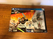 Ps4 Disney Infinity 3.0 Edition Star Wars Starter Pack New In Box Un Opened