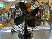 Vintage Robbins And Myers Inc 3 Speed 12 Oscillating Fan
