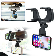 Car Accessories Rearview Mirror Mount Holder Stand Cradle Fit For Cell Phone