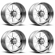 4 American Force 20x12 Afw 11 Independence Ss Wheels Polished 5x5 / 5x127 -33mm