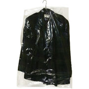Garment Bags, 21 X 4 X 38 Inch, 510 Per Roll, .6 Mil, Clear With Hanger Hole